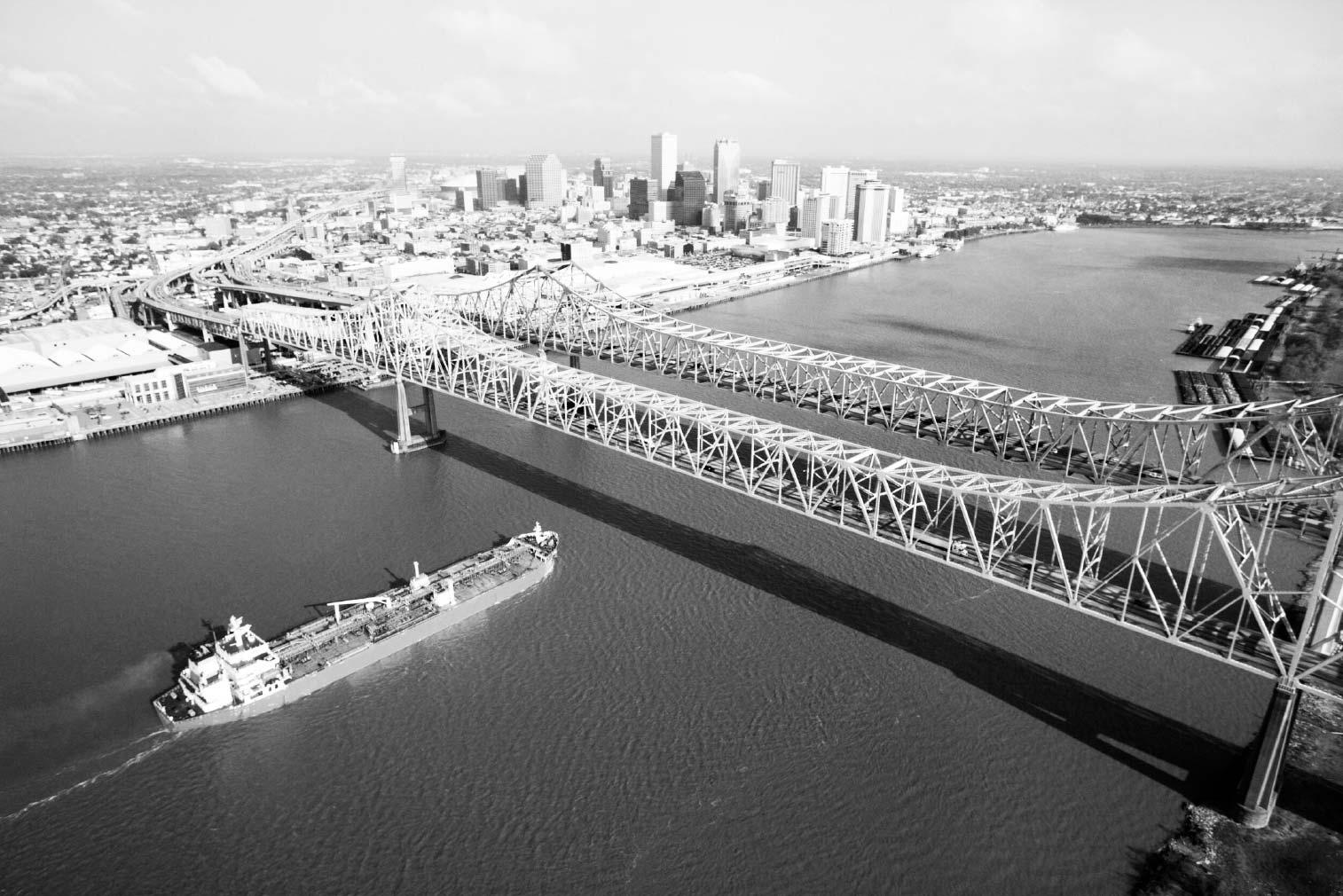 CCC Bridge over Mississippi River
