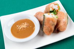 Healthy Course - Shrimp Spring Rolls