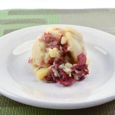 red potato mash